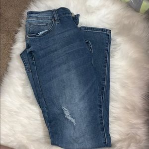Denim - Ankle Skinny Jeans